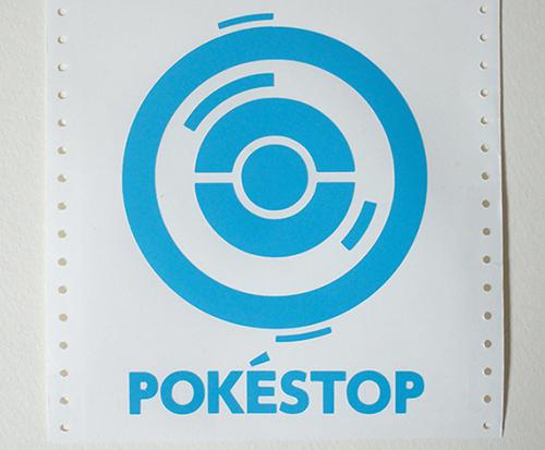 BepopでポケモンGOのポケストップステッカーを作ったよ!